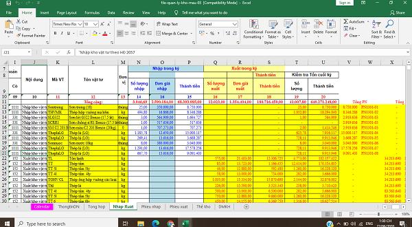 File quản lý kho mẫu 03