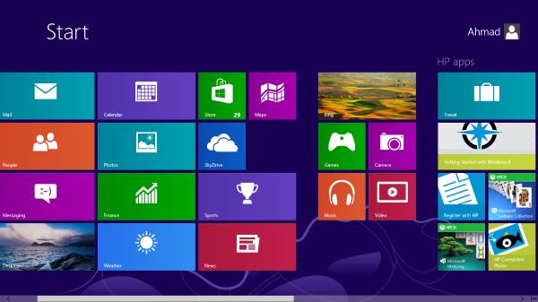Cài đặt mật khẩu cho windows 8.