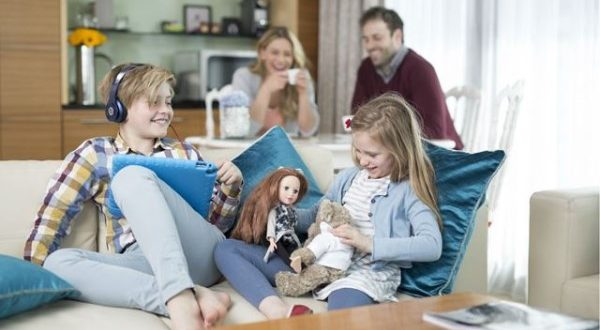 Gia đình nào cũng mong muốn có một không gian sinh hoạt ấm cúng.