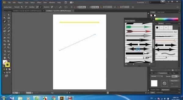 Vẽ mũi tên trong cad bằng lệnh Spline