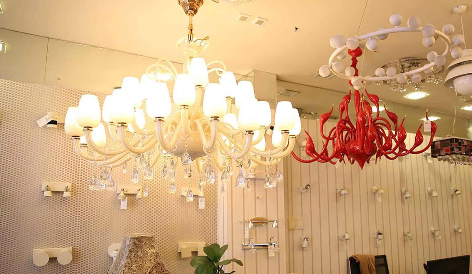 Những mẫu đèn trang trí - skyled được nhiều người lựa chọn hiện nay
