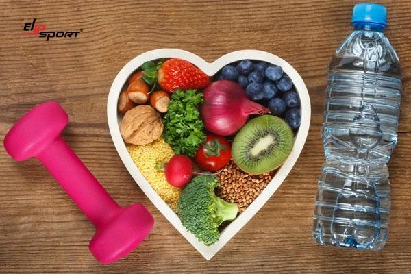 Ăn uống đủ chất, lành mạnh và tập thể dục là phương pháp ngăn ngừa hở van 2 lá ¼