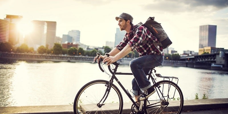 Đạp xe đạp có nhiều lợi ích
