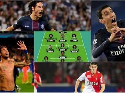Lịch sử Ligue 1 có rất nhiều cầu thủ tài năng ghi bàn thắng xuất sắc