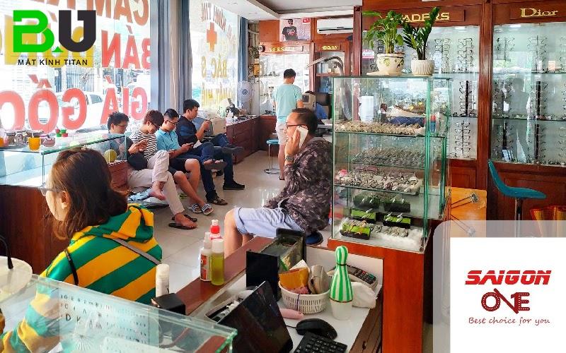 Mắt Kính Sài Gòn One được người tiêu dùng đánh giá cao bởi sự uy tín