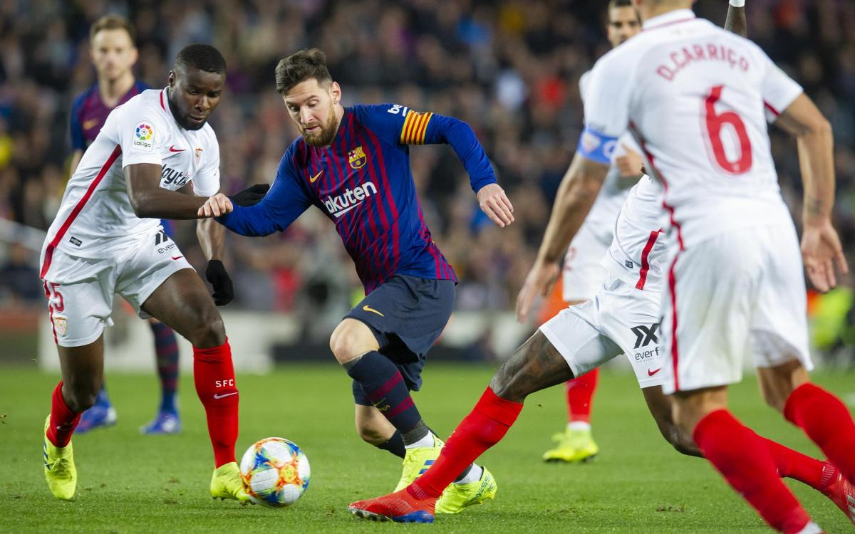 Màn đối đầu giữa Barcelona vs Sevilla diễn ra vào 4/10 tới đây