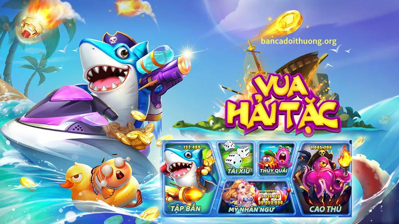 Bắn cá Vua hải Tặc - nơi tụ hội siêu nhiều game mini hấp dẫn