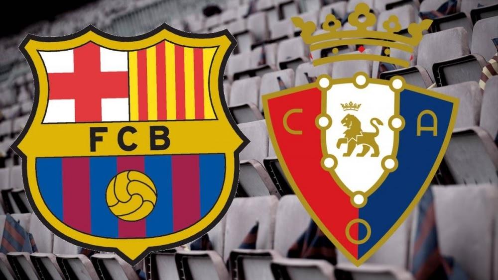 Barcelona vs Osasuna là trận tranh tài nổi bật trong ngày thi đấu thứ 11